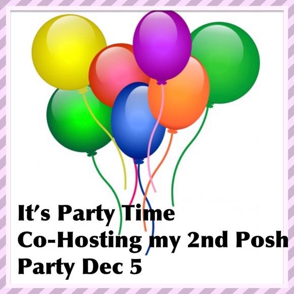 POSH PARTY DEC 5 @7 pm Pacific Time 🎉🎈